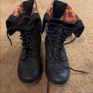 Mossino Supply Co. combat boots (black)